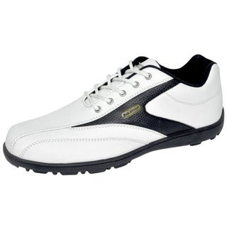 Orlimar Men's Trophy Golf Shoes White/Black