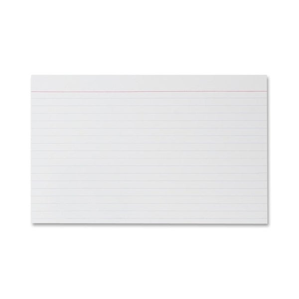 Sparco Ruled Index Cards (Pack of 100)