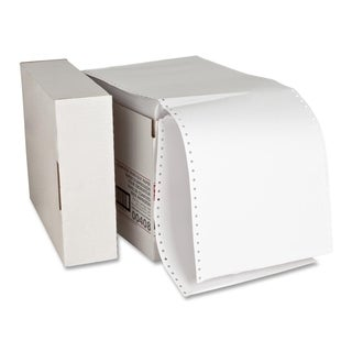 Sparco Perforated Blank Computer Paper (Carton of 2300)