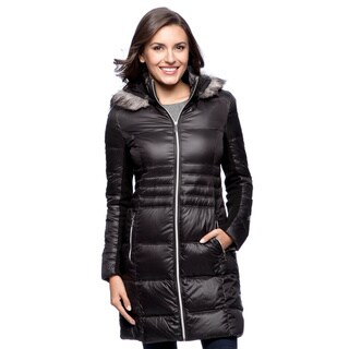 BCBG Women's Packable Down Coat