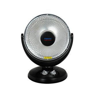 Impress 14-inch Halogen Element Parabolic Heater with Oscillation and Timer (Refurbished)