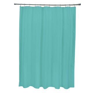 71 x 74-inch Jade Solid Shower Curtain
