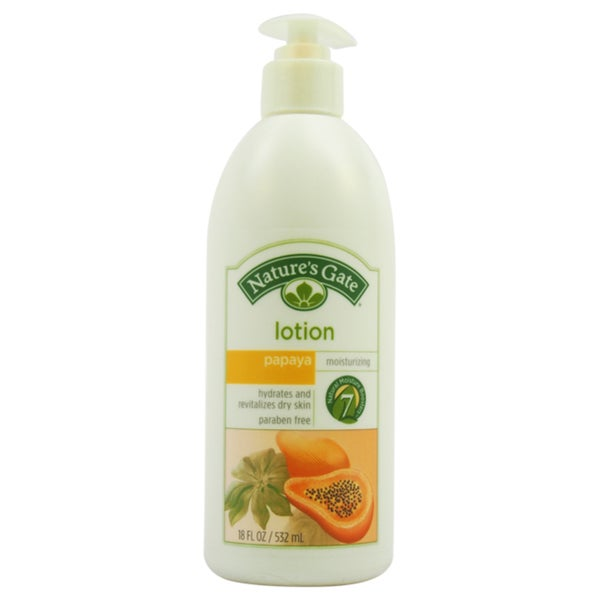Nature's Gate Papaya Moisturizing 18-ounce Lotion