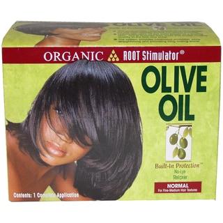 Organix Root Stimulator Anti-Frizz Olive Oil 6-ounce Glossing Polisher