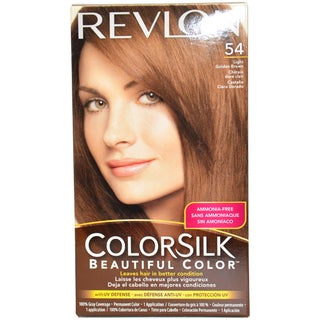 Revlon Colorsilk Beautiful Color #54 Light Golden Brown