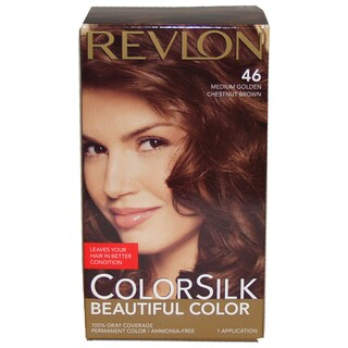 Revlon Colorsilk Beautiful Color #46 Medium Golden Chestnut Brown