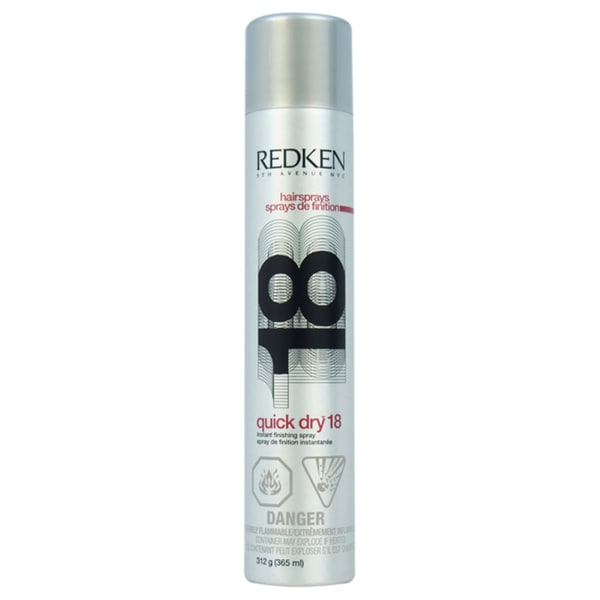 Redken Quick Dry 18 Finishing 11-ounce Spray