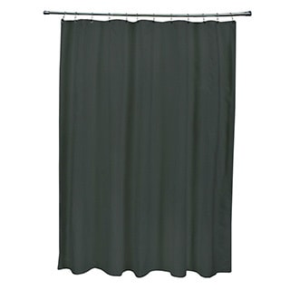 71 x 74-inch Forrest Green Solid Shower Curtain
