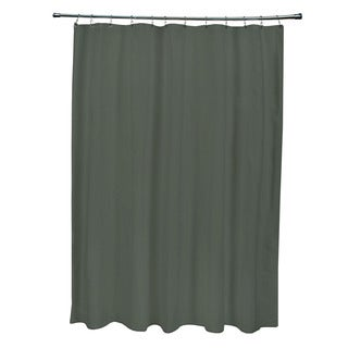 71 x 74-inch Thyme Solid Shower Curtain