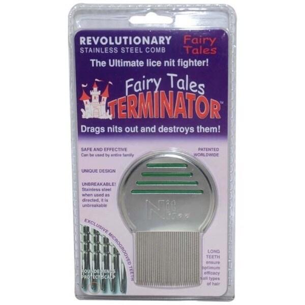 Fairy Tales Terminator Metal Lice Comb 14094600