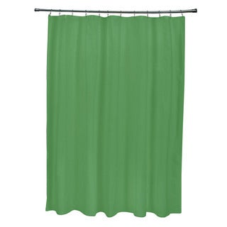 71 x 74-inch Leaf Solid Shower Curtain
