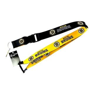 NHL Boston Bruins Reversible Lanyard Charm Gift Set