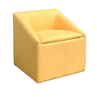Striking 20.75-inch Accent Chair with Storage