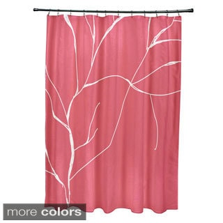 71 x 74-inch Abstract Branches Shower Curtain