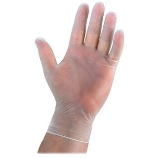 Genuine Joe Powdered Vinyl General Purpose Gloves (Box of 100)