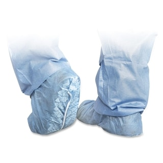 Medline Protective Blue Shoe Covers (Box of 100)