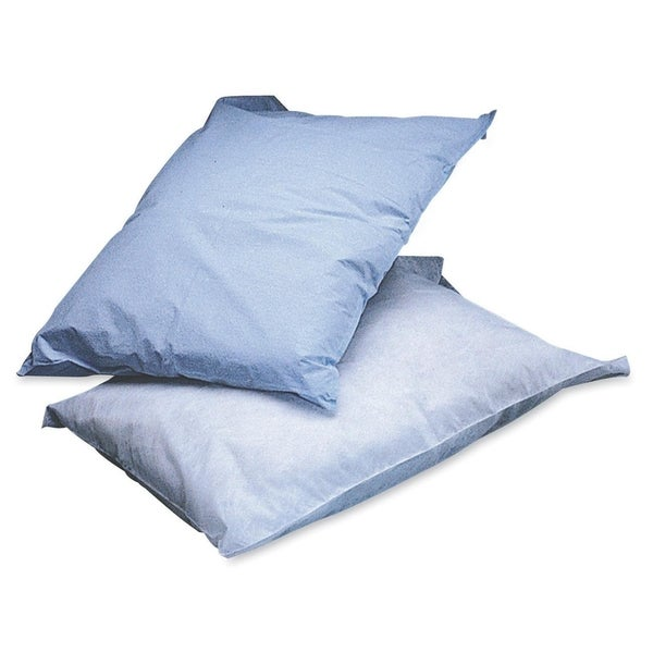 Medline Poly Tissue Disposable Pillowcases (Box of 100)
