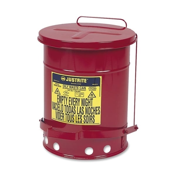 Just Rite 6-gallon Oily Waste Can