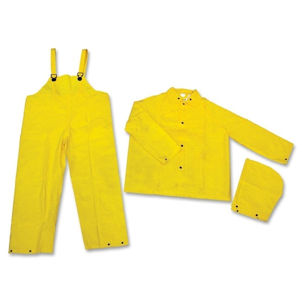MCR Safety XX-Large Yellow 3-piece Rainsuit