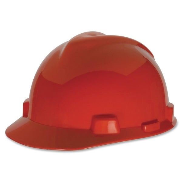 MSA V-Gard Red Fas Trac Suspension Safety Cap