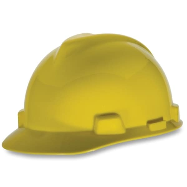MSA V-Gard Yellow Fas Trac Suspension Safety Cap