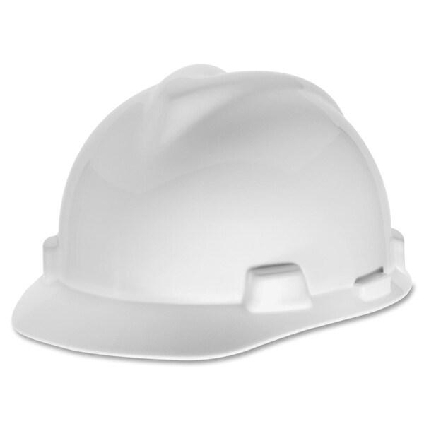 MSA V-Gard White Helmet