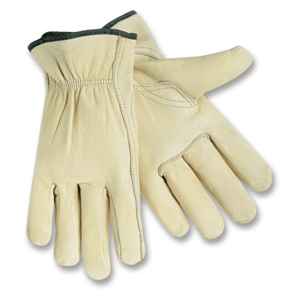 MCR Safety Medium Leather Driver Gloves (Box of 2)