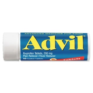Acme Advil Coated 200mg Ibuprofen Tablets Vial