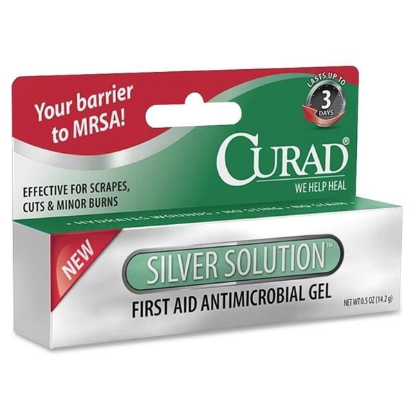 Medline Curad Silver Solution Antimicrobial Gel (Pack of 3)