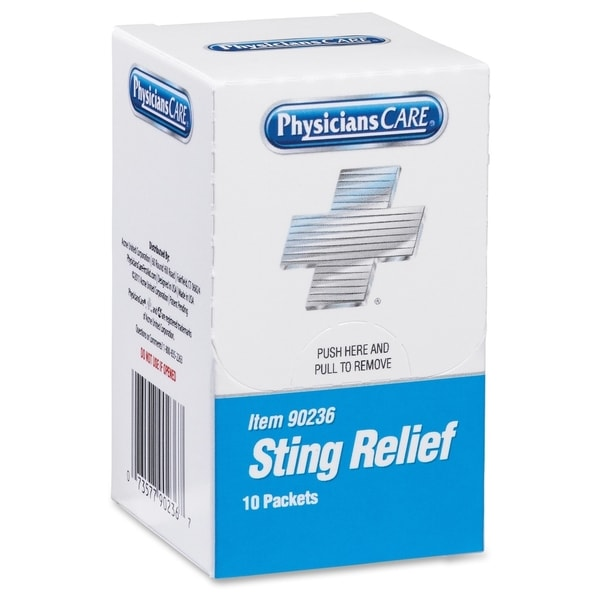 Acme Xpress First Aid Refill Sting Relief Pads (Box of 10)
