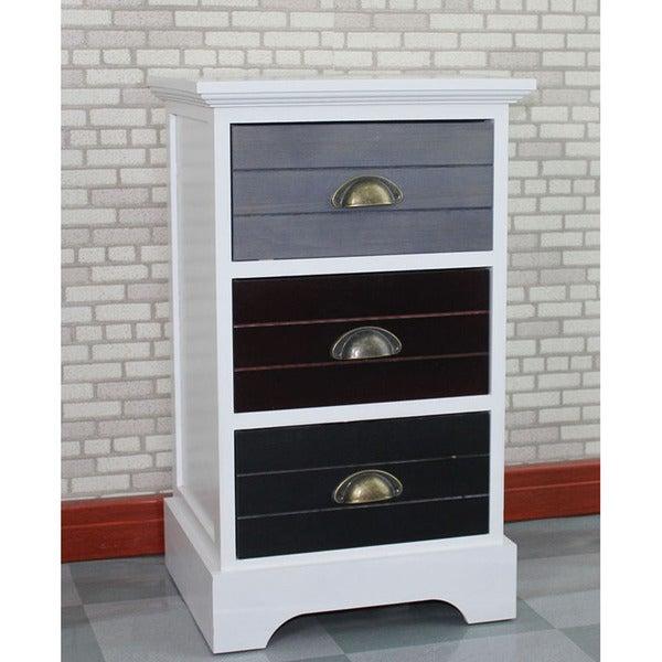 Gallerie Decor Burnside 3-drawer Cabinet