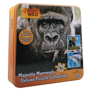 Nat Geo Wild Majestic Mammals Deluxe Puzzle