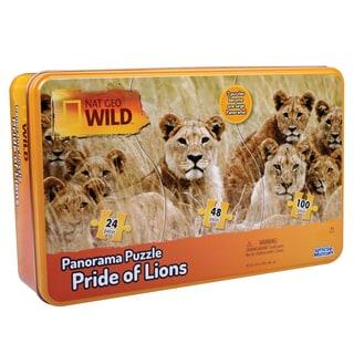 Uncle Milton Nat Geo Wild Lions Panarama Puzzle