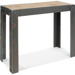 Aurelle Home Century' Natural Console Table