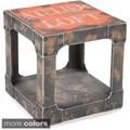 Aurelle Home Rough Side Orange Table