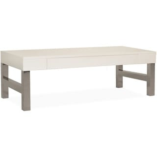 White Laquer Nook Coffee Table