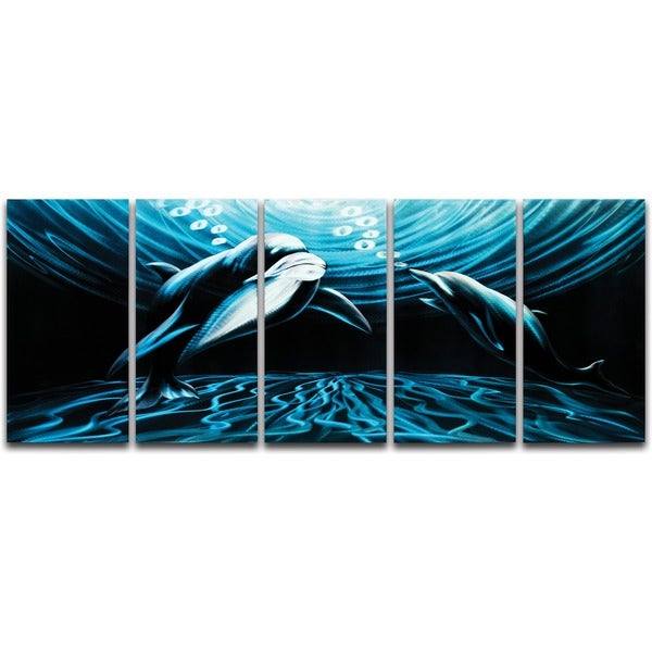 'Midnight Affair' Metal Wall Art 14095712