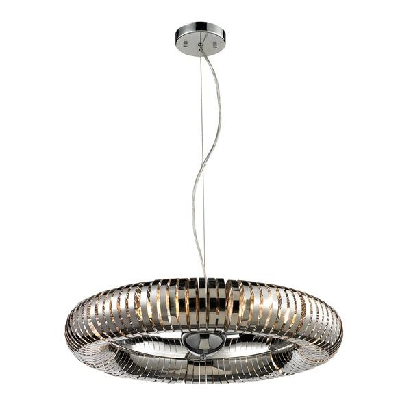 Alexia 6-light Stainless Steel Pendant