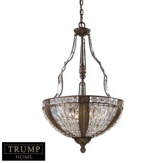 Trump Home Millwood 6-light Antique Bronze Pendant