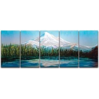 Mount Hood' XL Metal Wall Art
