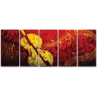 Musical Delight' XL Metal Wall Art
