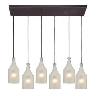 Elk lighting HGTV Home Skylar 6-light Oiled Bronze Pendant