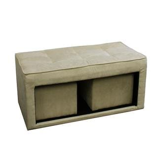 Storage Ottoman and Two (2) Hidden Seats