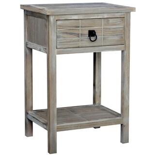 Gallerie Decor Driftwood Single-drawer Cabinet