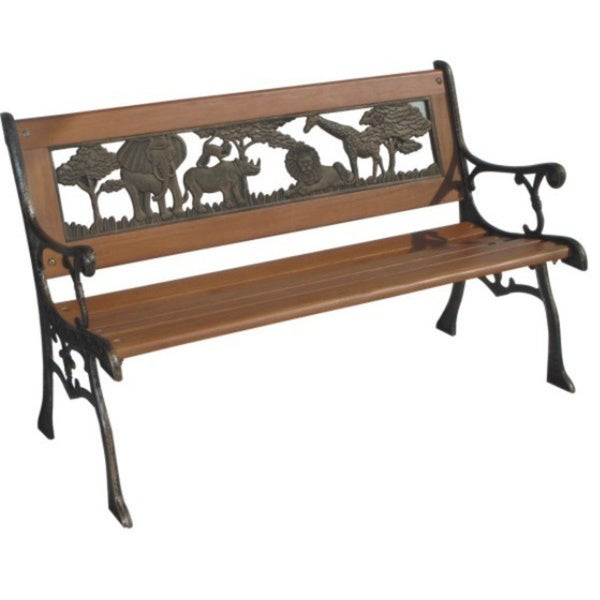 Bronze Jungle Bench