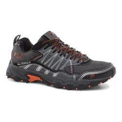 Men's Fila At Tractile Trail Shoe Pewter/Black/Vibrant Orange