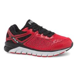 Boys' Fila Dashtech Evo Running Shoe Fila Red/Black/White
