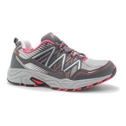 Women's Fila Headway 6 Trail Running Shoe Metallic Silver/Castlerock/Diva Pink