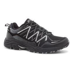 Men's Fila Headway 6 Trail Shoe Black/Black/Metallic Silver