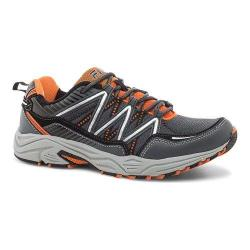 Men's Fila Headway 6 Trail Shoe Castlerock/Vibrant Orange/Black